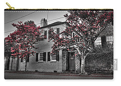 Crape Myrtles In Historic Downtown Charleston 1 Carry-all Pouch