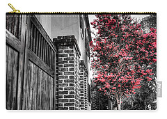 Crape Myrtles In Historic Downtown Charleston 2 Carry-all Pouch