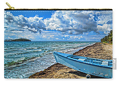Crash Boat Carry-all Pouch by Daniel Sheldon