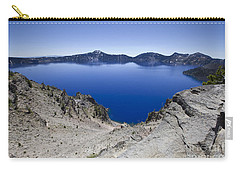 Carry-all Pouch featuring the photograph Crater Lake by David Millenheft