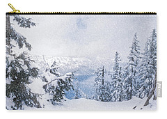 Crater Lake National Park In June Carry-all Pouch