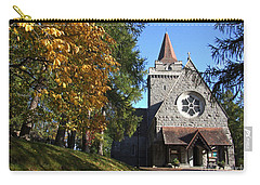 Carry-all Pouch featuring the photograph Crathie Parish Church - Scotland by Phil Banks