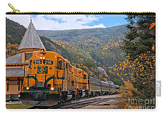Crawford Notch Train Depot Carry-all Pouch by Adam Jewell