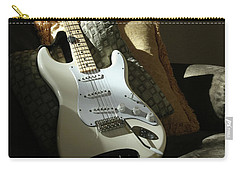 Cream Guitar Carry-all Pouch