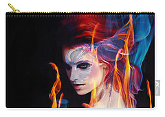 Creation Fire And Flow Carry-all Pouch