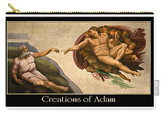 Creations Of Adam Carry-all Pouch