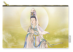 Carry-all Pouch featuring the photograph Creel Kuan Yin by Lanjee Chee