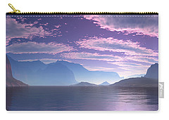 Crescent Bay Alien Landscape Carry-all Pouch