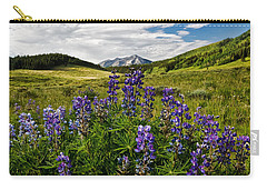 Carry-all Pouch featuring the photograph Crested Butte Lupines by Ronda Kimbrow
