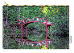 Crim Dell Bridge In Summer Carry-all Pouch