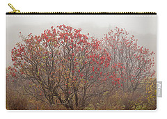 Crimson Fog Carry-all Pouch by Melinda Ledsome