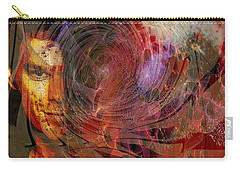 Crimson Requiem - Square Version Carry-all Pouch by John Robert Beck