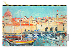 Croatia - Dubrovnik Harbour Carry-all Pouch