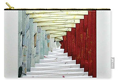 Crooked Staircase Carry-all Pouch by Ron Davidson