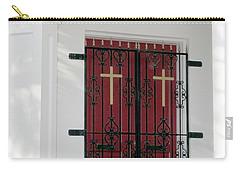 Key West Church Doors Carry-all Pouch by Bob Slitzan