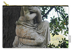 Carry-all Pouch featuring the photograph I Cross My Heart Angel by Lesa Fine