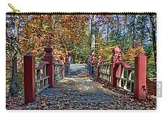 Crossing The Crim Dell Bridge II Carry-all Pouch