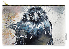 Crow After Rain Carry-all Pouch
