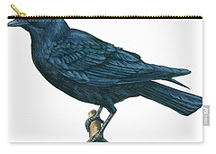 Crow Carry-all Pouch by Anonymous