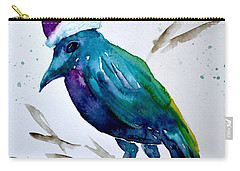 Crow Ho Ho Carry-all Pouch by Beverley Harper Tinsley