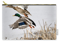 Crowded Flight Pattern Carry-all Pouch by Mike Dawson