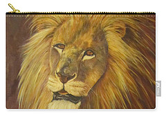 Crown Of Courage,lion Carry-all Pouch