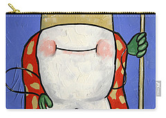 Carry-all Pouch featuring the painting Crowned Tooth by Anthony Falbo