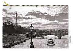 Cruise On The Seine Carry-all Pouch