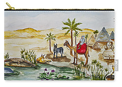 Cruising Along The Nile Carry-all Pouch