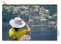 Carry-all Pouch featuring the photograph Cruising The Amalfi Coast by Keith Armstrong