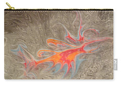 Carry-all Pouch featuring the painting Crustacean by Mike Breau