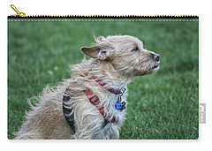 Carry-all Pouch featuring the photograph Cruz Enjoying A Warm Gentle Breeze by Thomas Woolworth