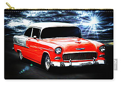 Classic Cars Carry-all Pouch featuring the photograph Cruze'n  by Aaron Berg