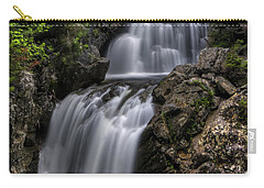 Crystal Cascade In Pinkham Notch Carry-all Pouch