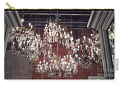 Crystal Chandeliers Carry-all Pouch