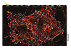 Carry-all Pouch featuring the digital art Crystal Inspiration #2 by Olga Hamilton