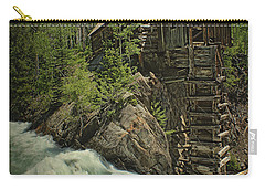 Crystal Mill Carry-all Pouch by Priscilla Burgers