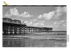 Crystal Pier In Pacific Beach Carry-all Pouch by Ana V Ramirez