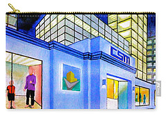 Carry-all Pouch featuring the painting Csm Mall by Cyril Maza