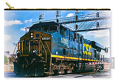 Csx 5292 Warner Street Crossing Carry-all Pouch