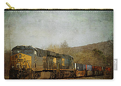 Csx Freight Train Vintaged Carry-all Pouch