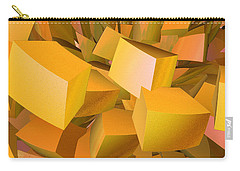 Cubist Melon Burst By Jammer Carry-all Pouch by First Star Art