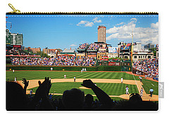 Cubs Win Carry-all Pouch by James Kirkikis