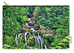 Cullasaja Falls Carry-all Pouch by Kenny Francis