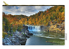 Cumberland Falls In Autumn Carry-all Pouch