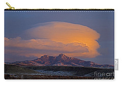 Cumulus Cloud Cap Over Heart Mountain   #2022 Carry-all Pouch