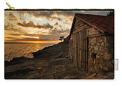 Cunski Beach At Sunrise Carry-all Pouch