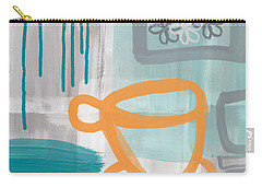 Cup Of Happiness Carry-all Pouch by Linda Woods