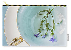 Carry-all Pouch featuring the photograph Cup Of Three by Amy Weiss
