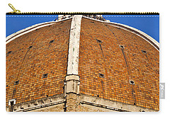 Cupola On Florence Duomo Carry-all Pouch by Liz Leyden